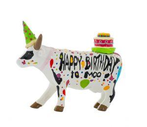 Happy Birthday To Moo! (medium ceramic)