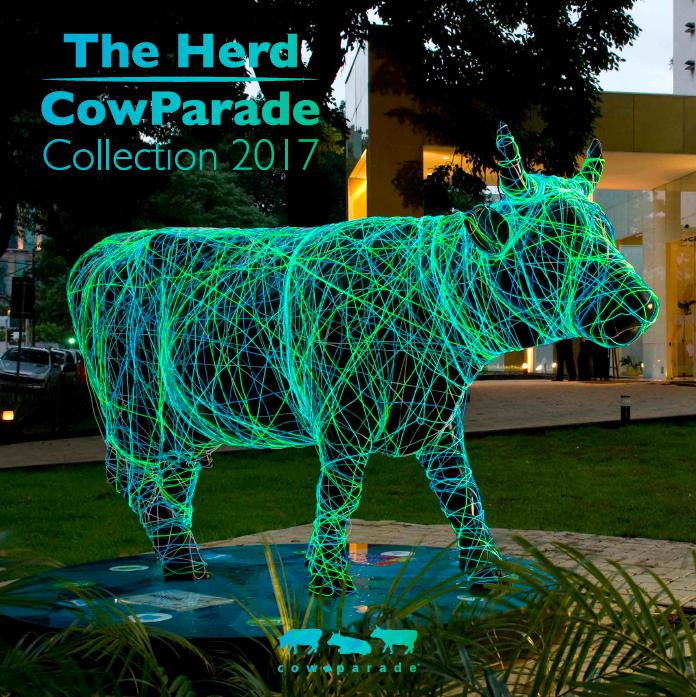 CowParade catalogue 2016 - 2017