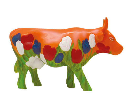 Holland Orange cow medium